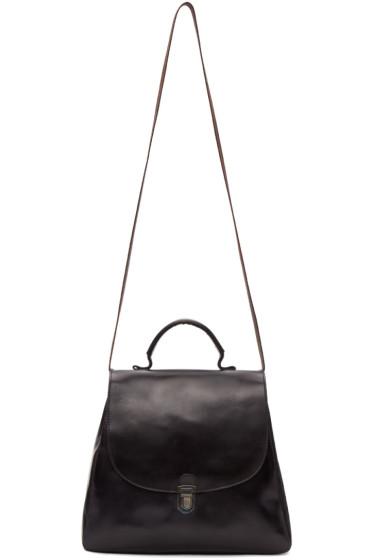 Cherevichkiotvichki - Black Flat Small Lock Bag