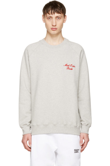 Resort Corps - Grey 'Mail Order Bride' Sweatshirt