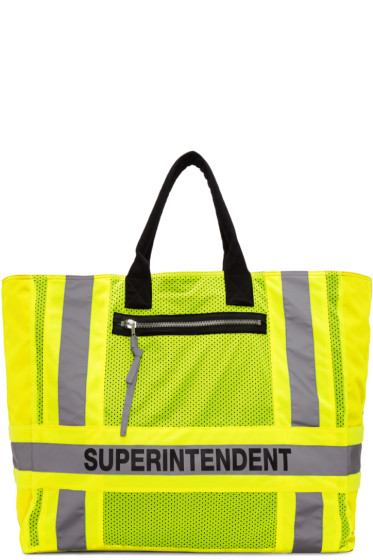 Heron Preston - Yellow DSNY Edition Superintendent Tote