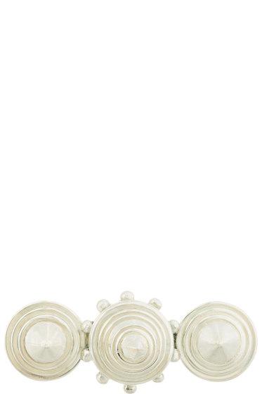 KTZ - Silver Triple Cone Ring