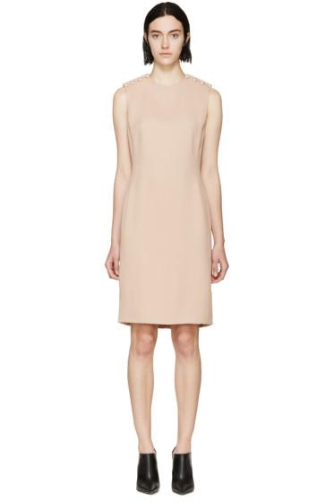 Lanvin - Nude Crepe & Pearl Dress
