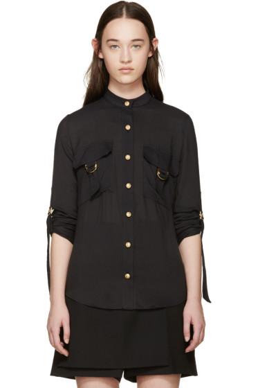 Balmain - Black Pocket Shirt