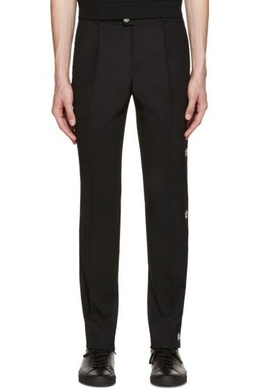 Versus - Black Lion Medallion Trousers