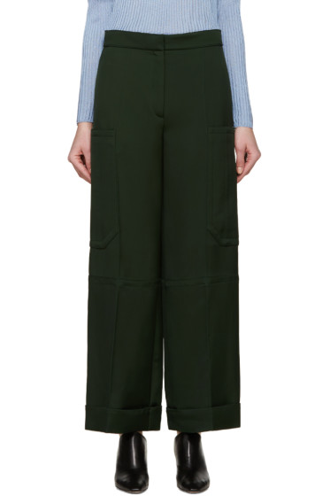 Nina Ricci - Green Twill Trousers