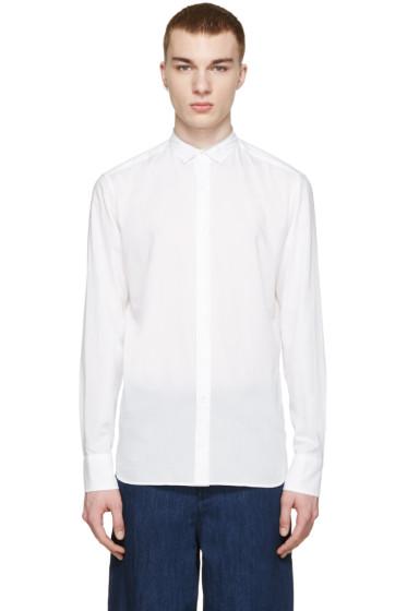Kolor - White Collar Detail Shirt
