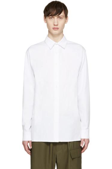 D.Gnak by Kang.D - White Long Shirt