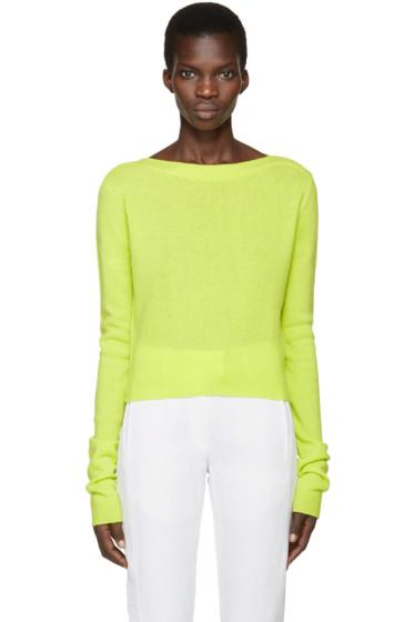 Haider Ackermann - Green Invidia Sweater