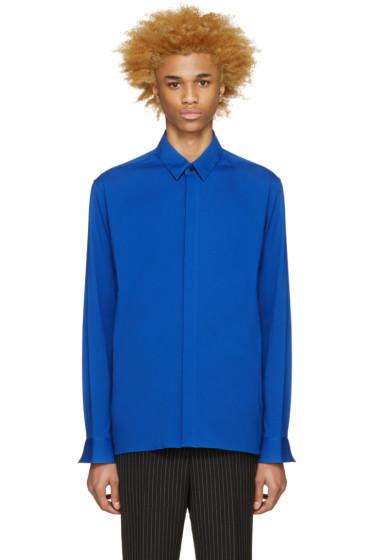 Haider Ackermann - Blue Cotton Shirt