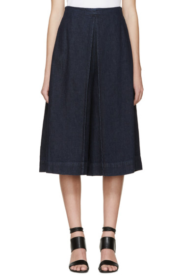 Rosetta Getty - Indigo Denim Culottes