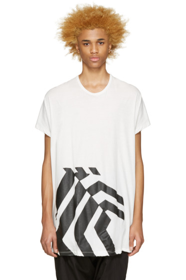 NILøS - White Graphic T-Shirt