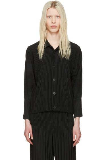 Homme Plissé Issey Miyake - Black Pleated Shirt