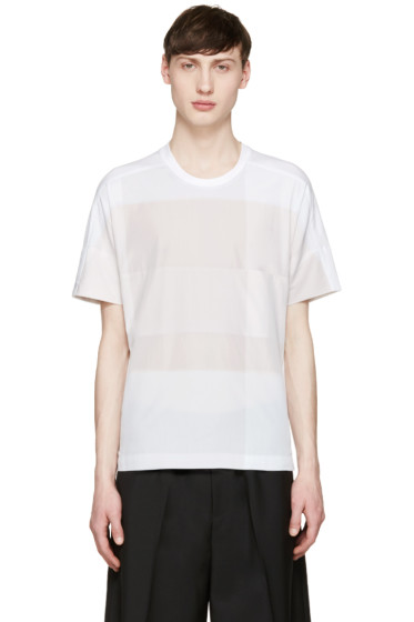 Stephan Schneider - Tricolor Square T-Shirt