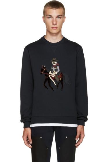 Dolce & Gabbana - Navy Cowboy & Horse Pullover