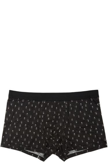 Dolce & Gabbana - Black Dot Print Boxers