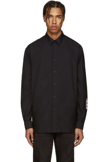 McQ Alexander McQueen - Black Logo Patch Shirt