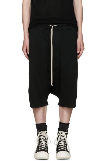 Rick Owens Drkshdw - Black Pods Shorts