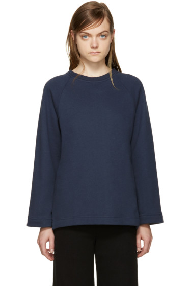 YMC - Navy Relaxed Pullover