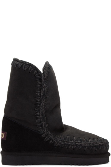 Mou - Black Eskimo 24 Boots