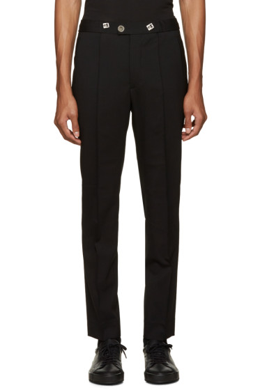 Versus - Black Drawstring Trousers