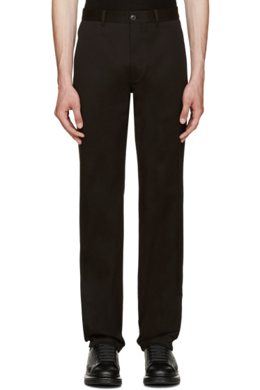 Versace - Black Slim Trousers