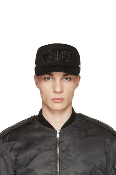 KTZ - Black Flat Cap