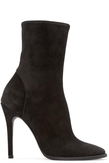 Haider Ackermann - Black Suede Fantine Boots