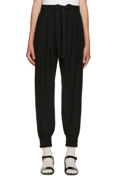 Mother of Pearl - Black Belted Lexi Trousers