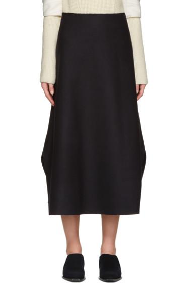 Studio Nicholson - Navy Branzi Skirt