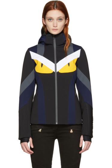 Fendi - Multicolor Panelled Ski Jacket