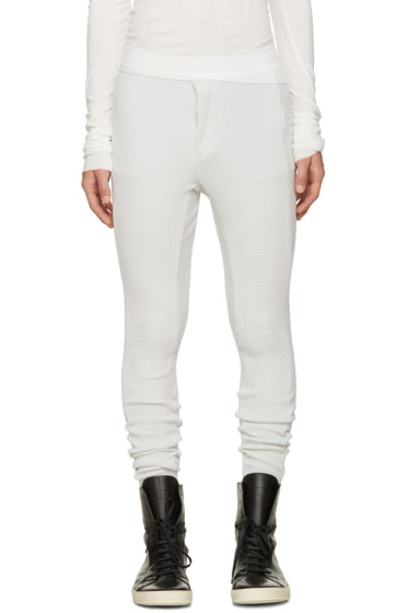 NILøS - Off-White Sarouel Lounge Pants