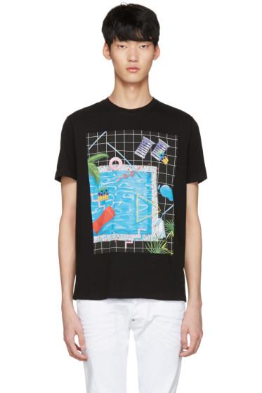 Diesel - Black T-Joe-NM Pool T-Shirt