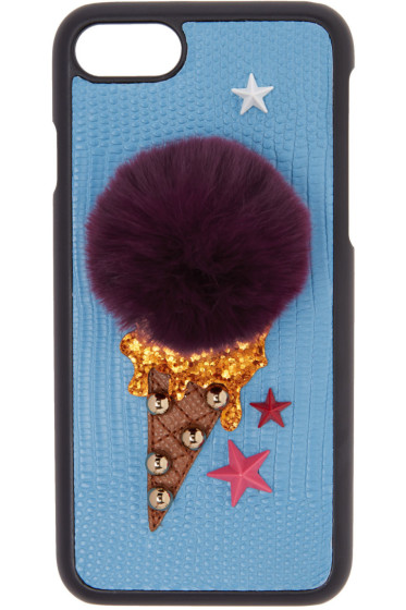 Dolce & Gabbana - ブルー ジェラート iPhone 7 ケース