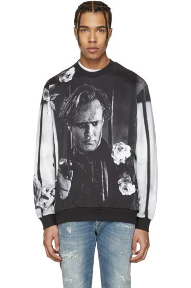 Dolce & Gabbana - Black & White Marlon Brando Pullover