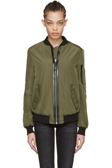 Mackage - Green Verena Bomber Jacket