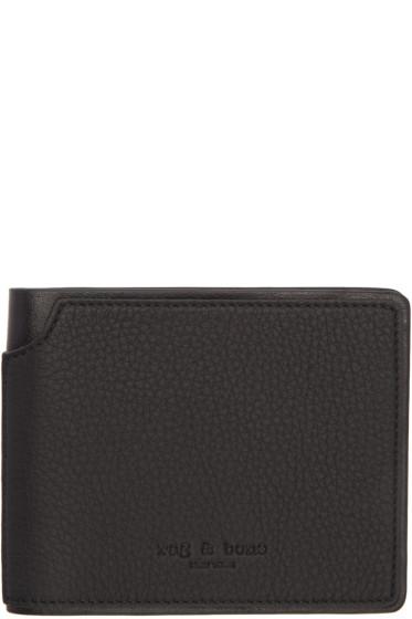 Rag & Bone - Black Billfold Wallet