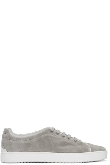 Rag & Bone - Grey Suede Kent Sneakers