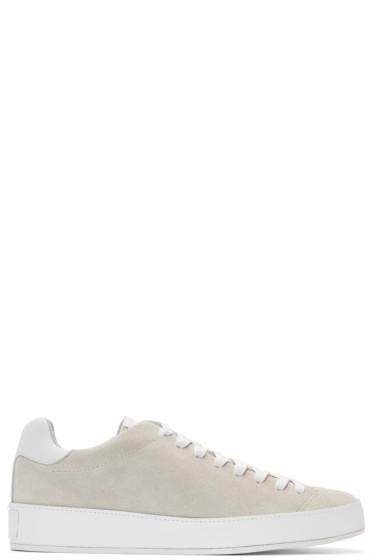 Rag & Bone - Grey Suede RB1 Low Sneakers