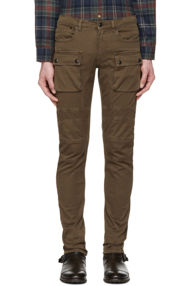 Belstaff - Brown Felmore Biker Chinos