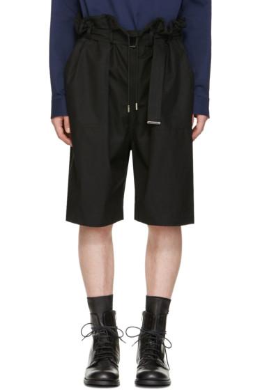 Diesel Black Gold - Black Drawstring Shorts