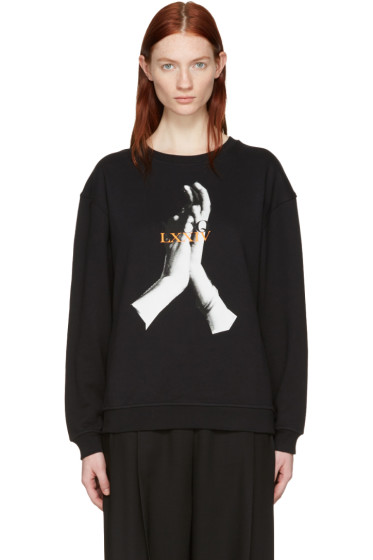 McQ Alexander McQueen - Black Hands Classic Pullover