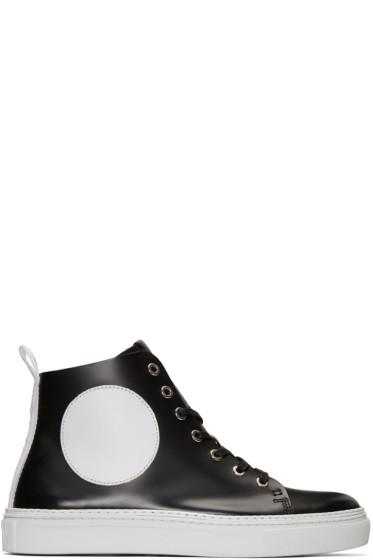 McQ Alexander McQueen - Black Chris Mid-Top Sneakers