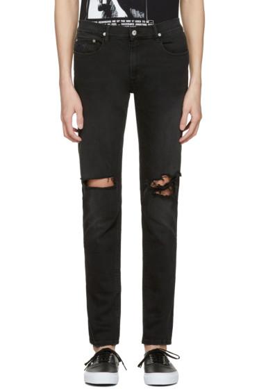 April77 - Black Joey Moon Hit Jeans