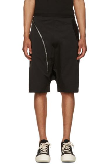 Rick Owens Drkshdw - Black Aircut Pods Shorts