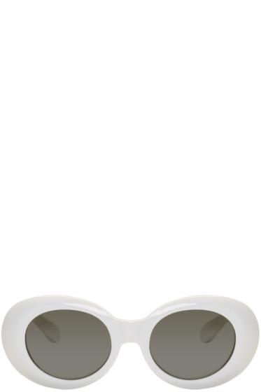 Acne Studios - White Mustang Sunglasses