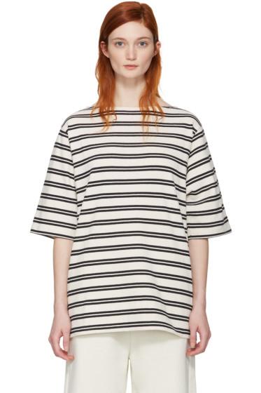Acne Studios - Ecru Striped Dani T-Shirt