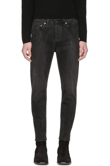 Acne Studios - Black Town Crease Jeans
