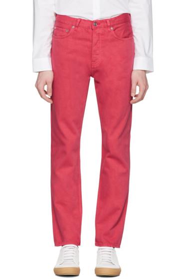 Acne Studios - Pink Van Jeans