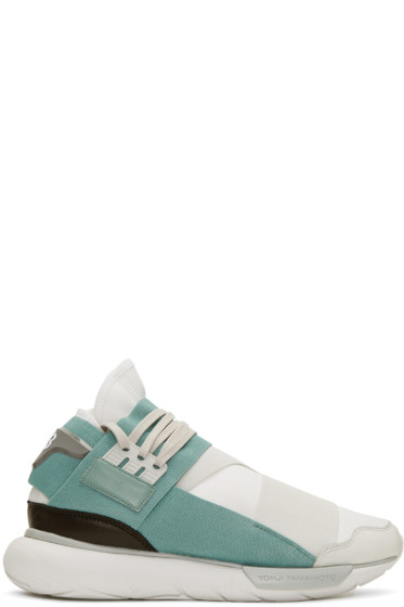 Y-3 - White Qasa High Sneakers