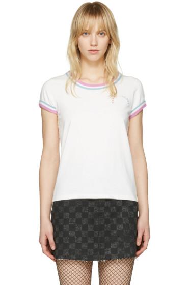 Marc Jacobs - Ivory Rainbow 70's T-Shirt