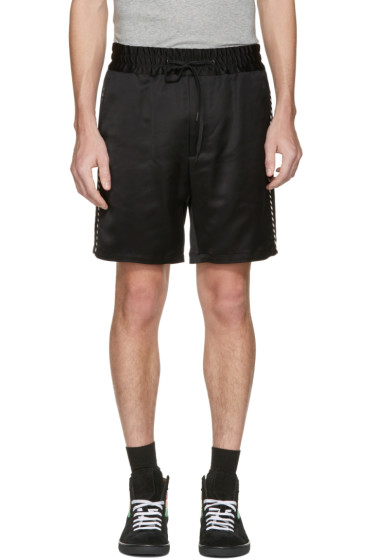 Marc Jacobs - Black Side Stripes Shorts